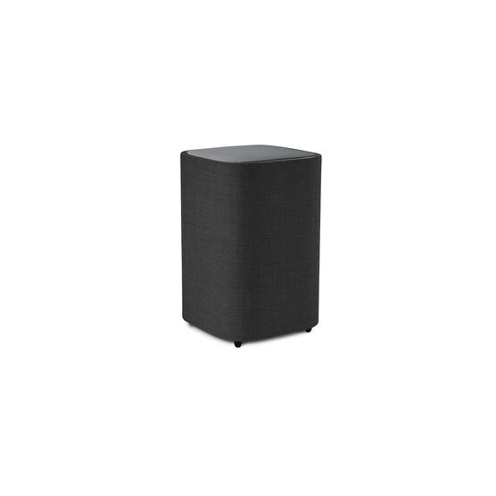 Harman Kardon Citation Sub S - Black - Compact wireless subwoofer with deep bass - Hero