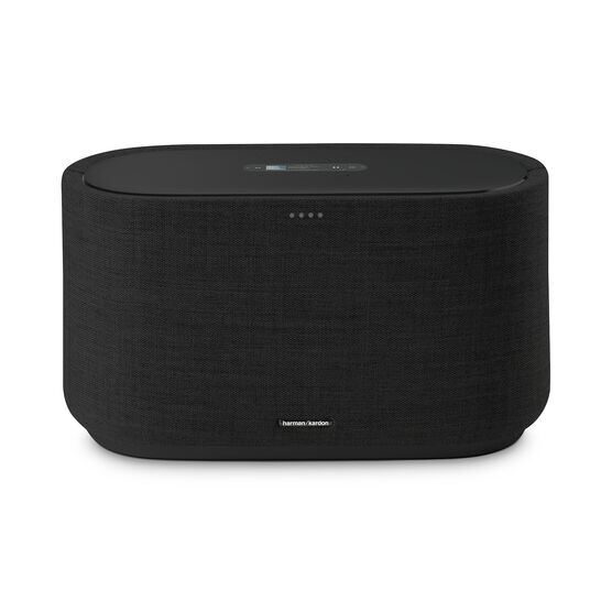 Harman Kardon Citation 500 - Black - Large Tabletop Smart Home Loudspeaker System - Front