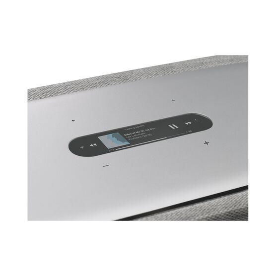 Harman Kardon Citation 500 - Grey - Large Tabletop Smart Home Loudspeaker System - Detailshot 1