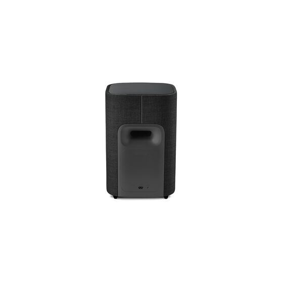 Harman Kardon Citation Sub S - Black - Compact wireless subwoofer with deep bass - Back