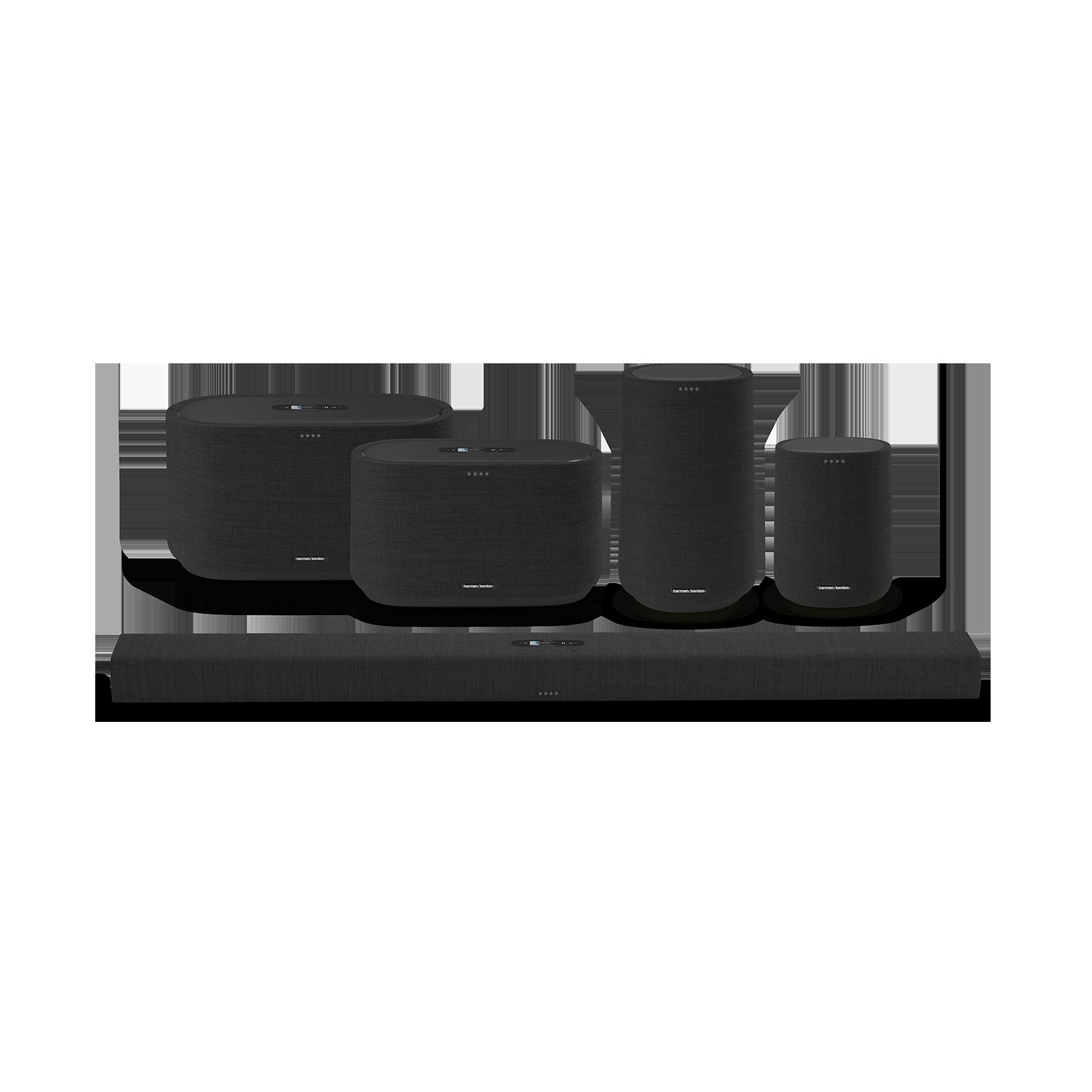 Harman Kardon Citation 500 - Black - Large Tabletop Smart Home Loudspeaker System - Detailshot 5