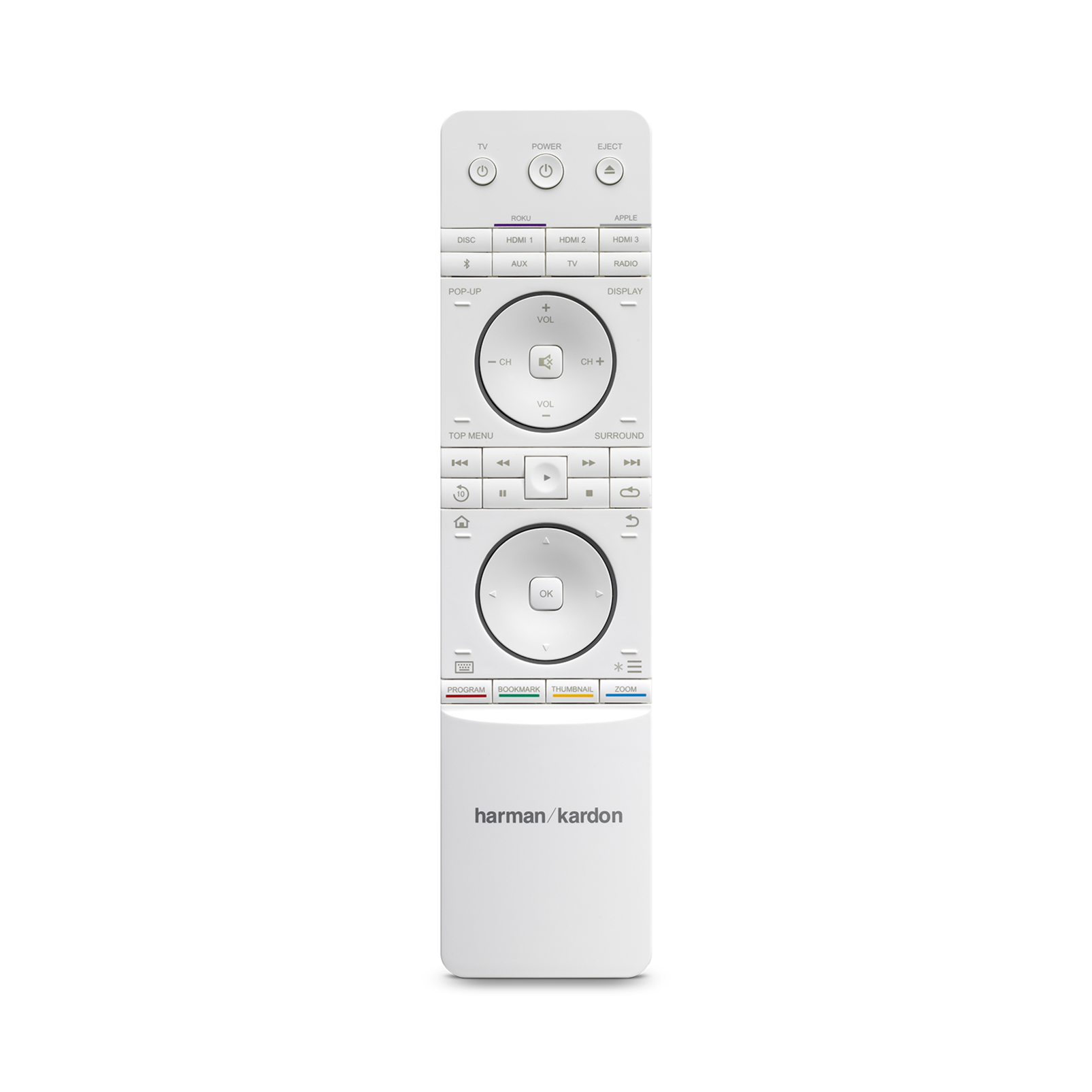 BDS 580S - White - 5.1-channel, 325-watt, 4K upscaling Blu-ray Disc™ Receiver with Spotify Connect, AirPlay and Bluetooth® technology. - Detailshot 1