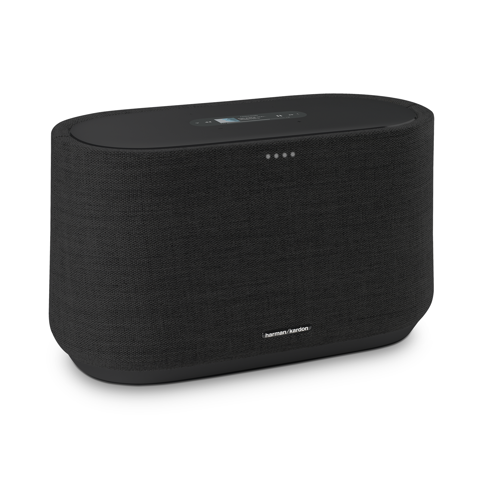Harman Kardon Citation 300 - Black - The medium-size smart home speaker with award winning design - Hero